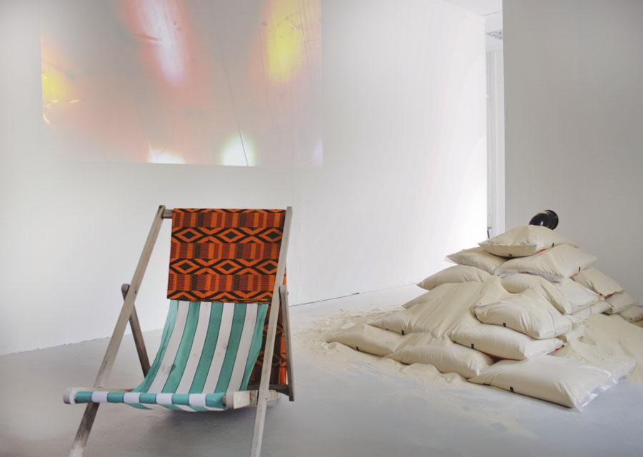 Goldsmith BA Fine Art degree show '09 / 'rabbitisland'  installation