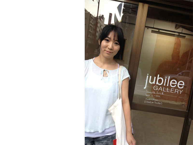 Seung-Ah Paik/スンアペク  jubilee GALLERY 2013